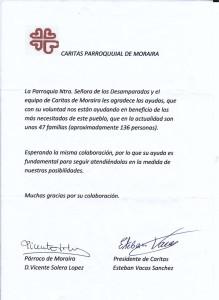 Letter from CARITAS- resized